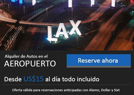 Renta de Autos en Los Angeles Aeropuerto