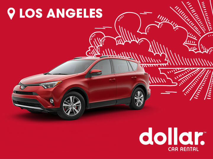 Dollar Los Ángeles Minivan